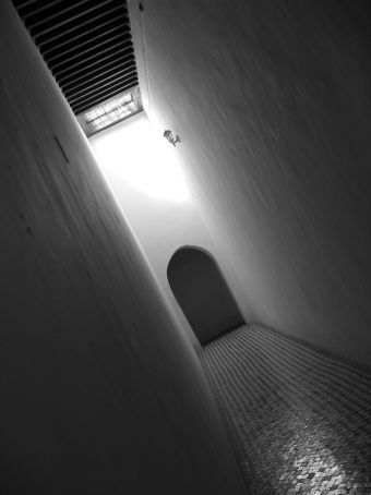 Royal Palace hallway (Marrakesh)