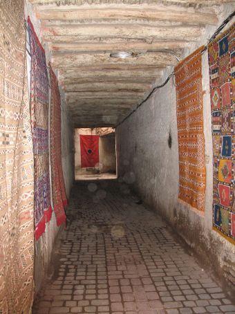 Rug souk (Marrakesh)