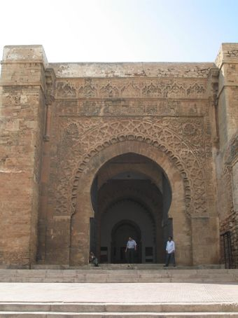 Zaouia - seat of Muslim fraternity ruins (Rabat)