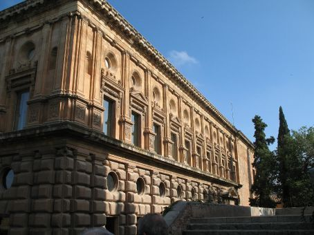 The library on the palace grounds