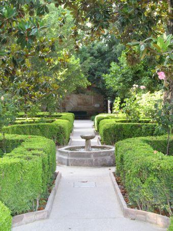 Alhambra Palace gardens