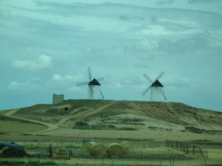 The windmills of La Mancha