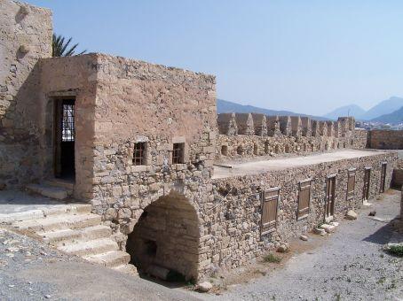 13th century Venetian fortress in Ierapetra (Crete)