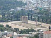 View of the Temple of Olympian Zeus from the Parthenon: by colleen_finn, Views[535]