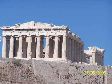 View of the Acropolis from Filipappos Hill