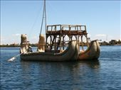 Catamaran made out of reeds (Lake Titicaca): by colleen_finn, Views[182]