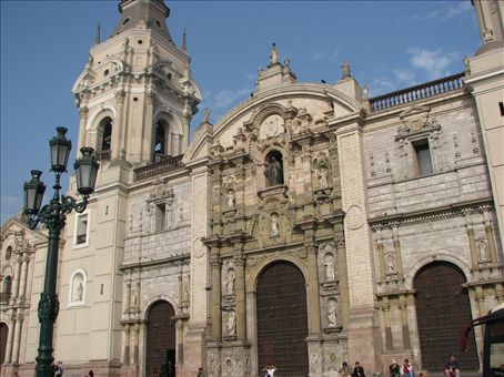 Plaza Mayor Cathedral, b. 1540 (Lima)