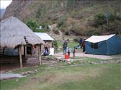 Our camp on the first day of the trek: by colleen_finn, Views[266]