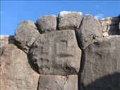 The puma´s paw - one of many symbols built into the megalithic walls: by colleen_finn, Views[929]