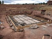 The school´s septic tank is almost finished: by colleen_finn, Views[371]