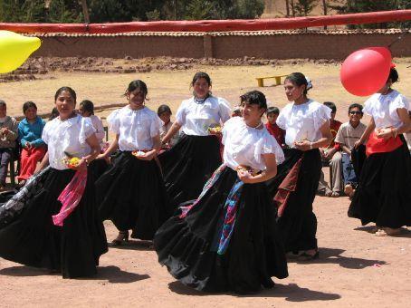 Exhibition day at the school (Pumamarca)
