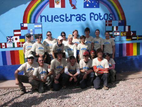 The volunteers (Pumamarca)
