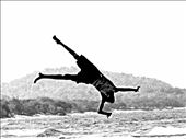 A child jumping in Lake Malawi: by colorsofafrica, Views[143]