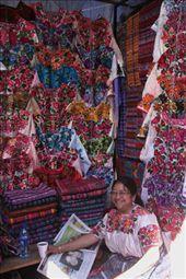 Market stall, Totonicapan: by connieandjohn, Views[5024]