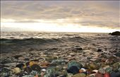 rocky shore and stormy skies: by cpearlmac, Views[181]