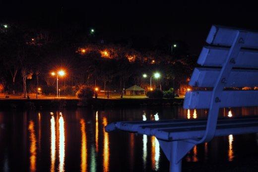 A Marina Park Views Of The Gladstone Waterfront At Night I Felt The
