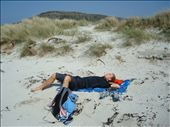 Lepäilyä Oronsayn rannalla: by crazyfinns, Views[230]