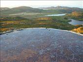 Yhden kukkulan huipulla oli tämmöinen kartta, etäisyyksiä Colonsayltä. Irlantiin on noin 300km.: by crazyfinns, Views[209]