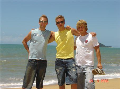 Heikki, Miikka ja Niko