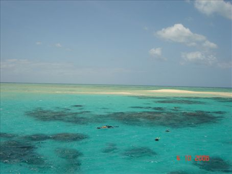 Snorklaajia paratiisissa