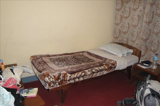 Viihtyisa huoneeni Kathmandussa...
