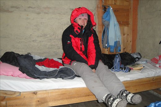 Manangissa piti jo kaivaa toppatakki esille, iltaisin oli kylma.