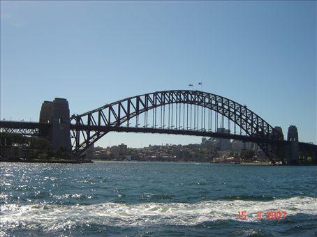 Sydneyn ylpeys Harbour Bridge