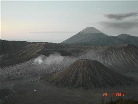 Gunung Bromo-tulivuori Ita-Jaavalla