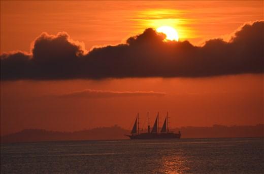 Breath-taking sunrise
