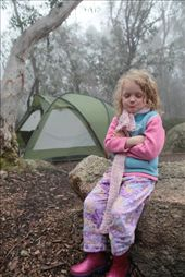 PJ's in the rain - just the ratherest look for 5 year olds these days.: by crustyadventures, Views[296]