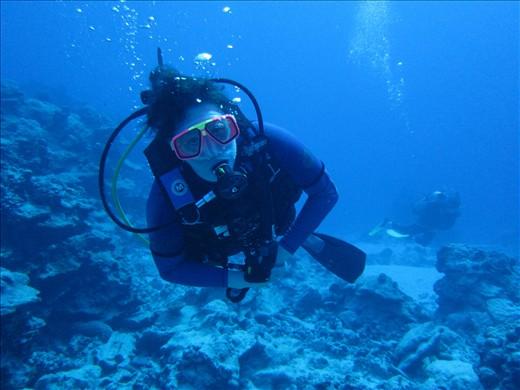 Me. Underwater