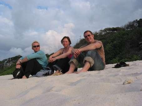 Loitering on the beach, Byron Bay.