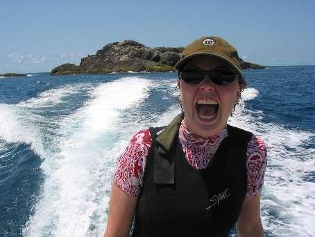 Scuba diving at Julian Rocks, Byron bay - let's ave it!!!