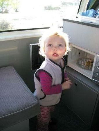 Hours of endless entertainment with the microwave. open the door, close the door. open the door...