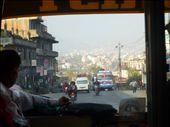 On the bus headed out of Kathmandu.: by cruzensuzan, Views[178]