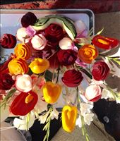 Flower arragement made with peppers : by cubannomad, Views[154]