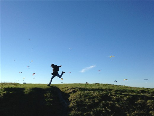 the leap @ Devil's Dyke, East Sussex, UK