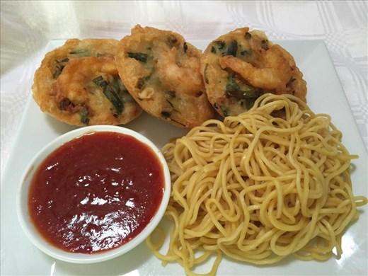 The final dish- C Ya Chi