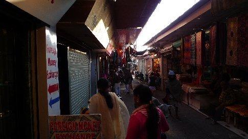 rishikesh/ramjula - hauptstrasse