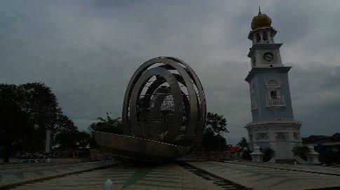 penang - georgetown - clocktower