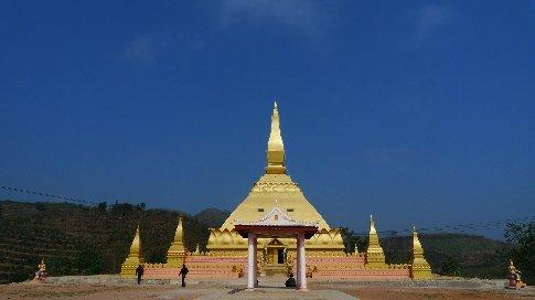 Tempel in Luang Nam Tha
