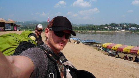 grenzübergang thailand - laos