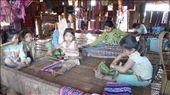 Weaving in a Laos village: by daan, Views[363]