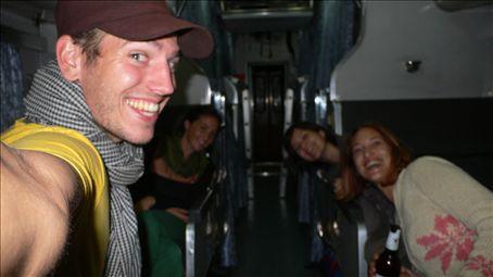 Trainride from Chiang Mai to Bangkok