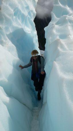 Hiking on the St. Joseph Glacier