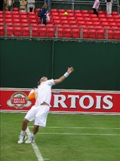 Lleyton providing more evidence of consistent foot faulting at Queens: by dale_ireland, Views[227]