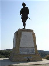 The Turkish Memorial to Ataturk on Ari Burni who led the defense of Gallipoli: by dale_ireland, Views[398]