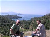 With Matt overlooking the Western Turkish coast: by dale_ireland, Views[223]