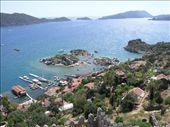 Overlooking the seaside village of Kekova: by dale_ireland, Views[380]