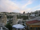 Colours of the sky matching the colours in the rock over Goreme: by dale_ireland, Views[293]